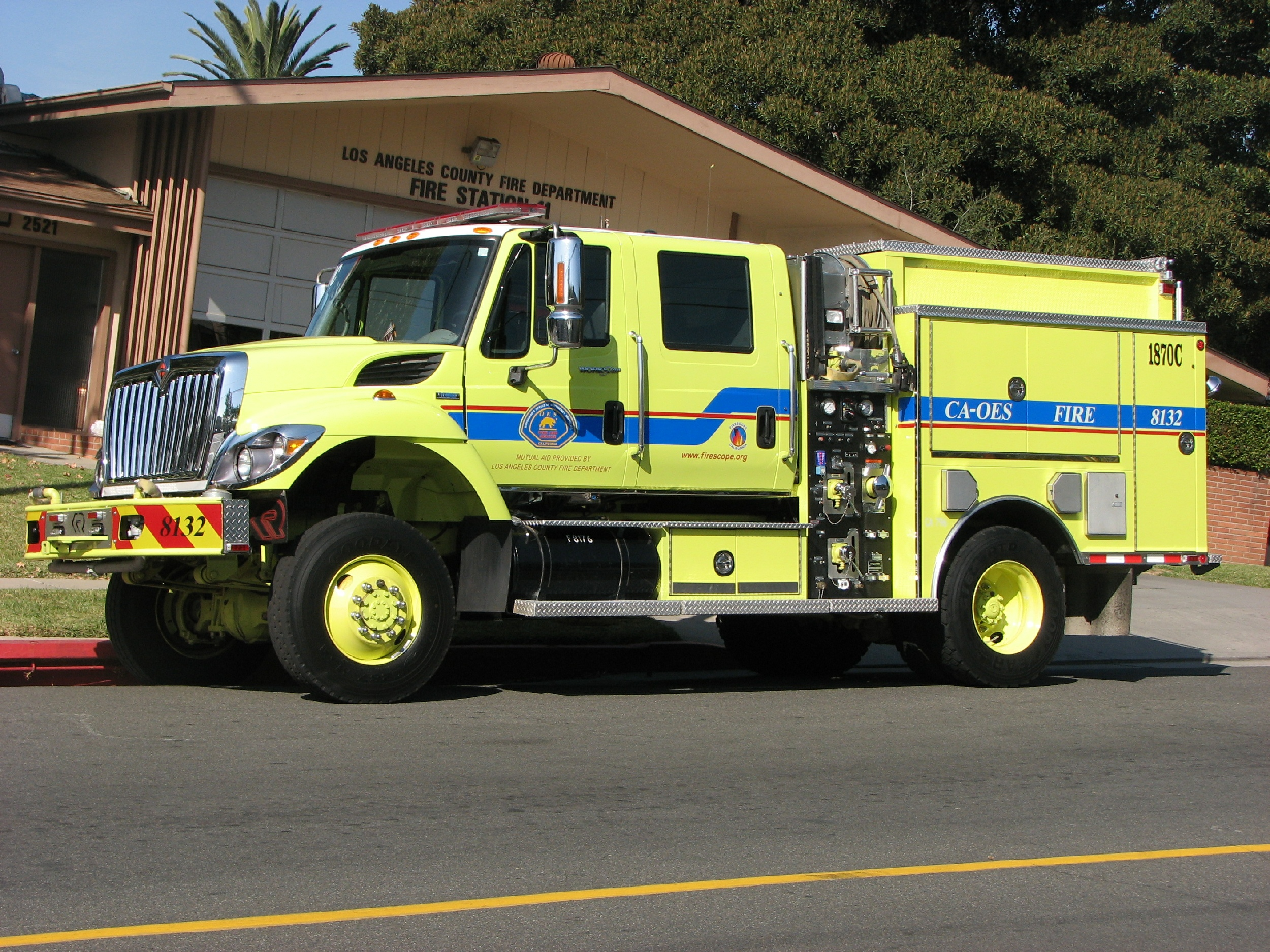 California Oes Fire Engines For Sale