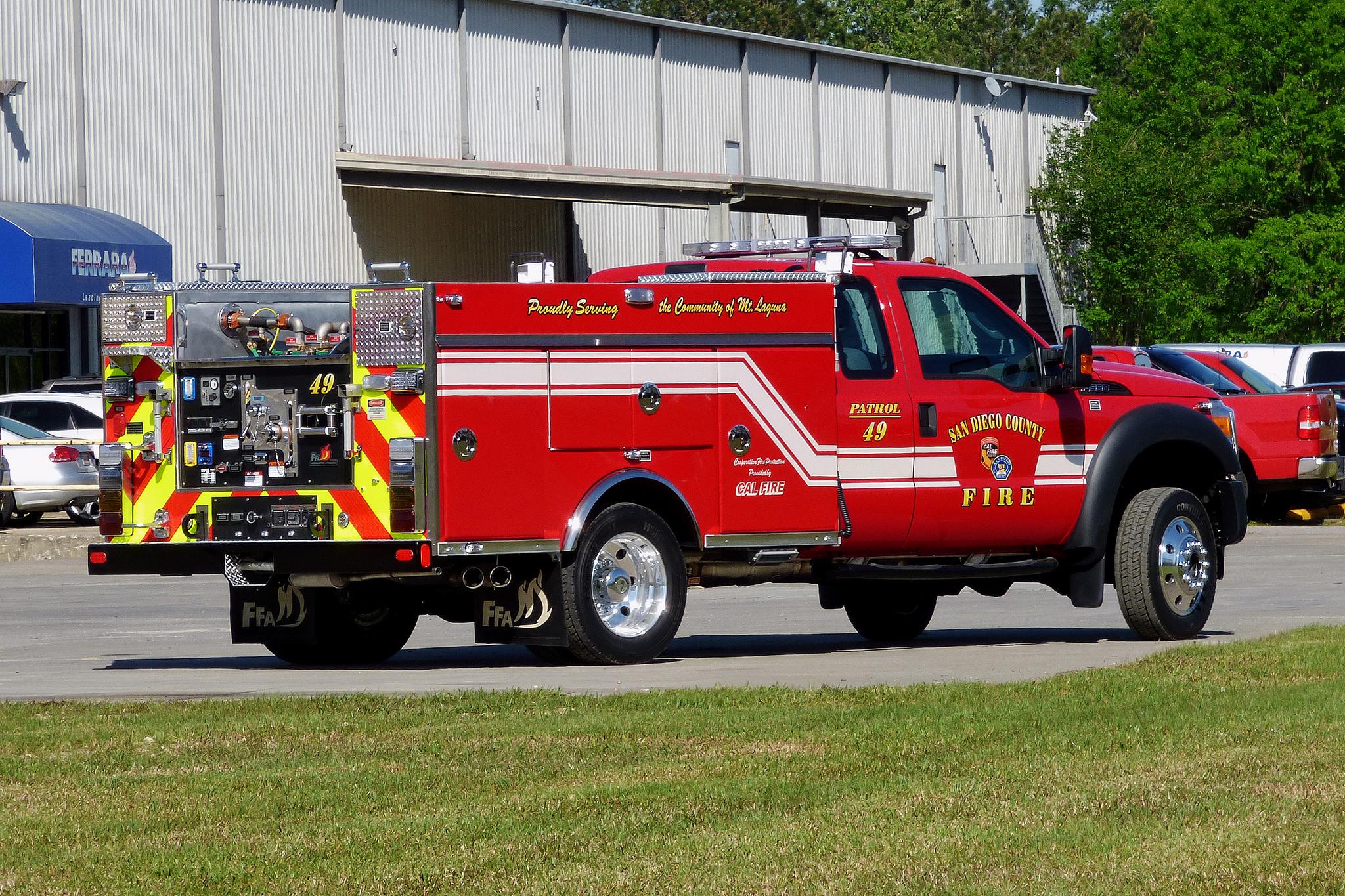 CA, Mount Laguna Volunteer Fire Department