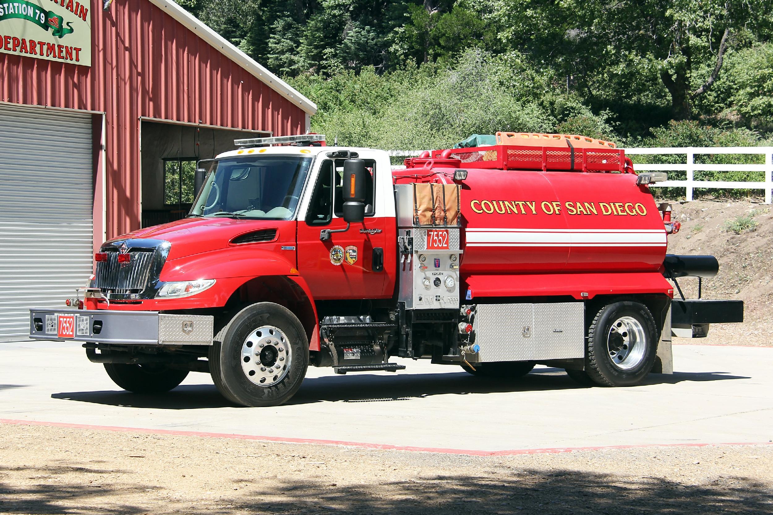 CA, Palomar Mountain Volunteer Fire Department