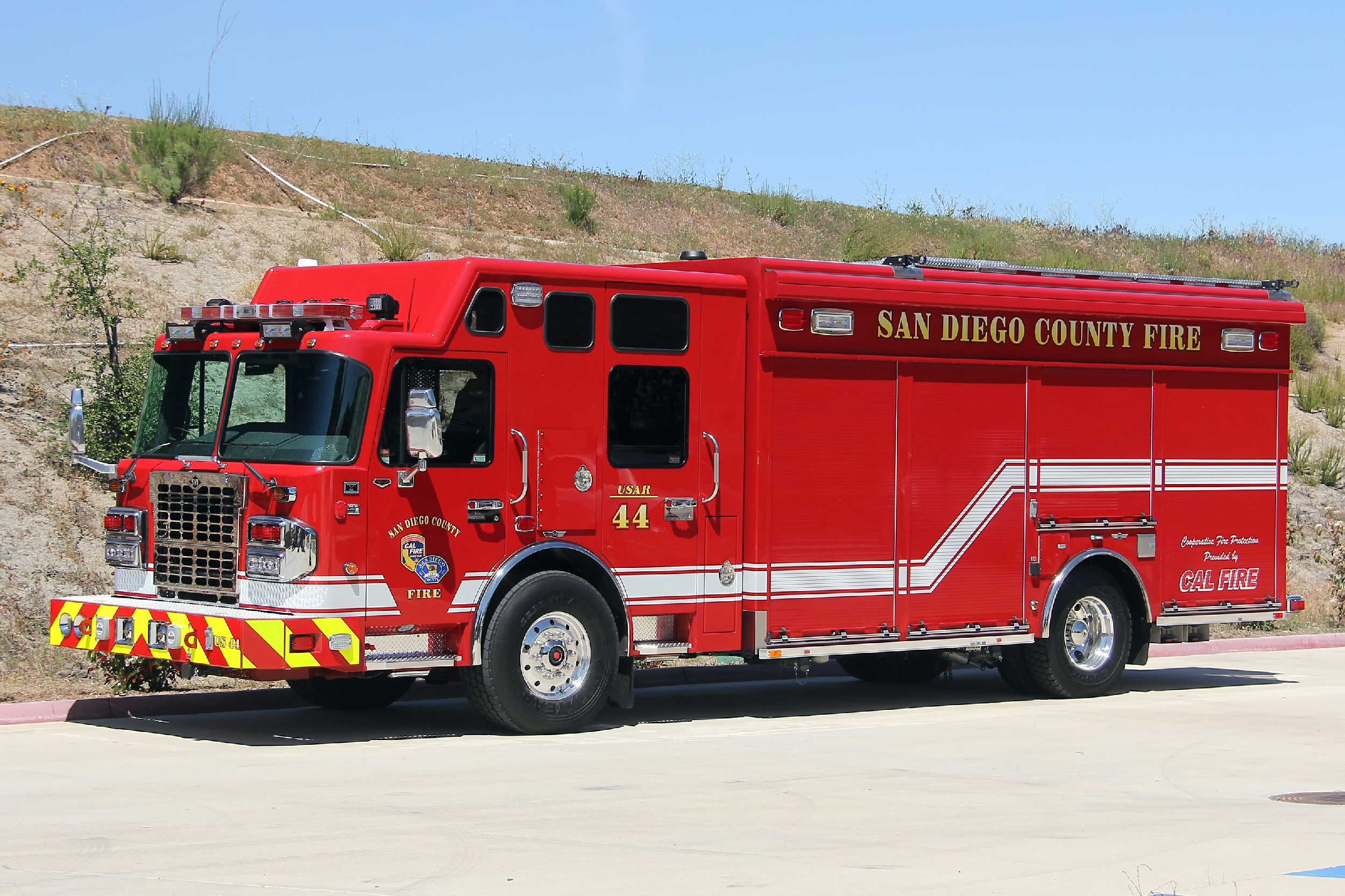 CA, Pine Valley Fire Department