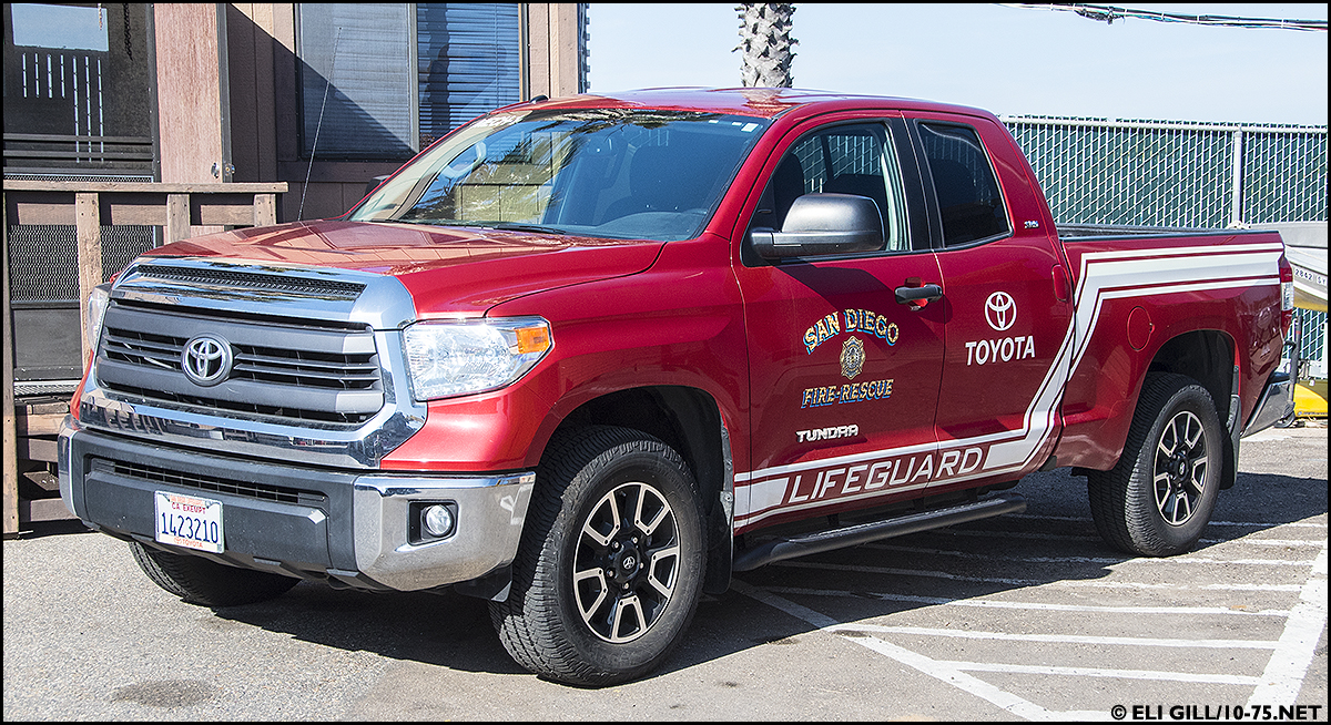 CA, San Diego Fire Department Lifeguard
