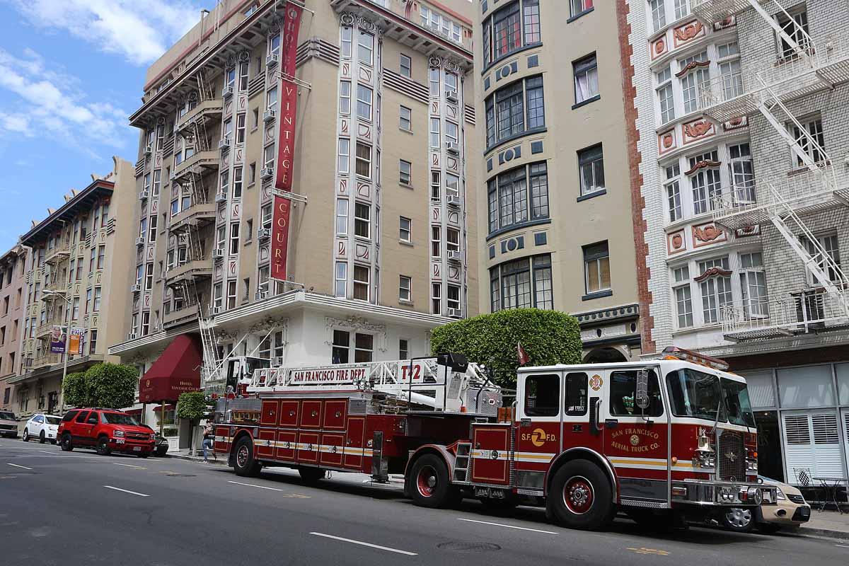 San Francisco Fire Department Headquarters 698
