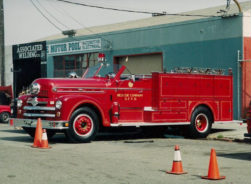 Ca San Francisco Fire Department Old Company Special