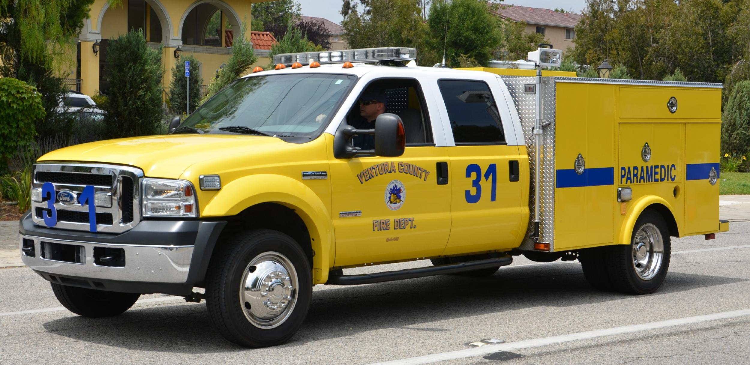 ca ventura county fire department squad