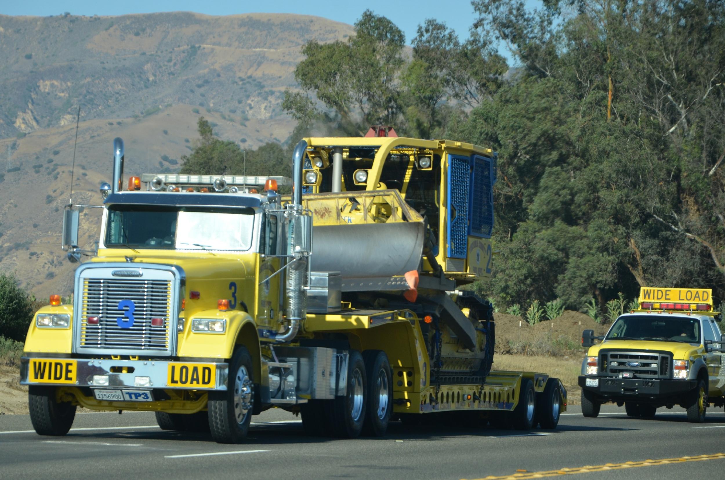 dozer county ventura fire transport department sterling