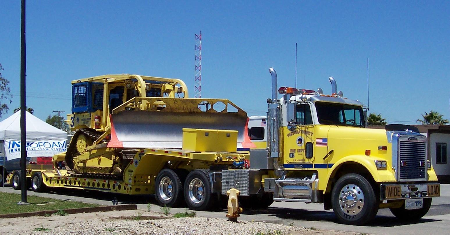 county ventura dozer fire team department vcfd transport fd sterling