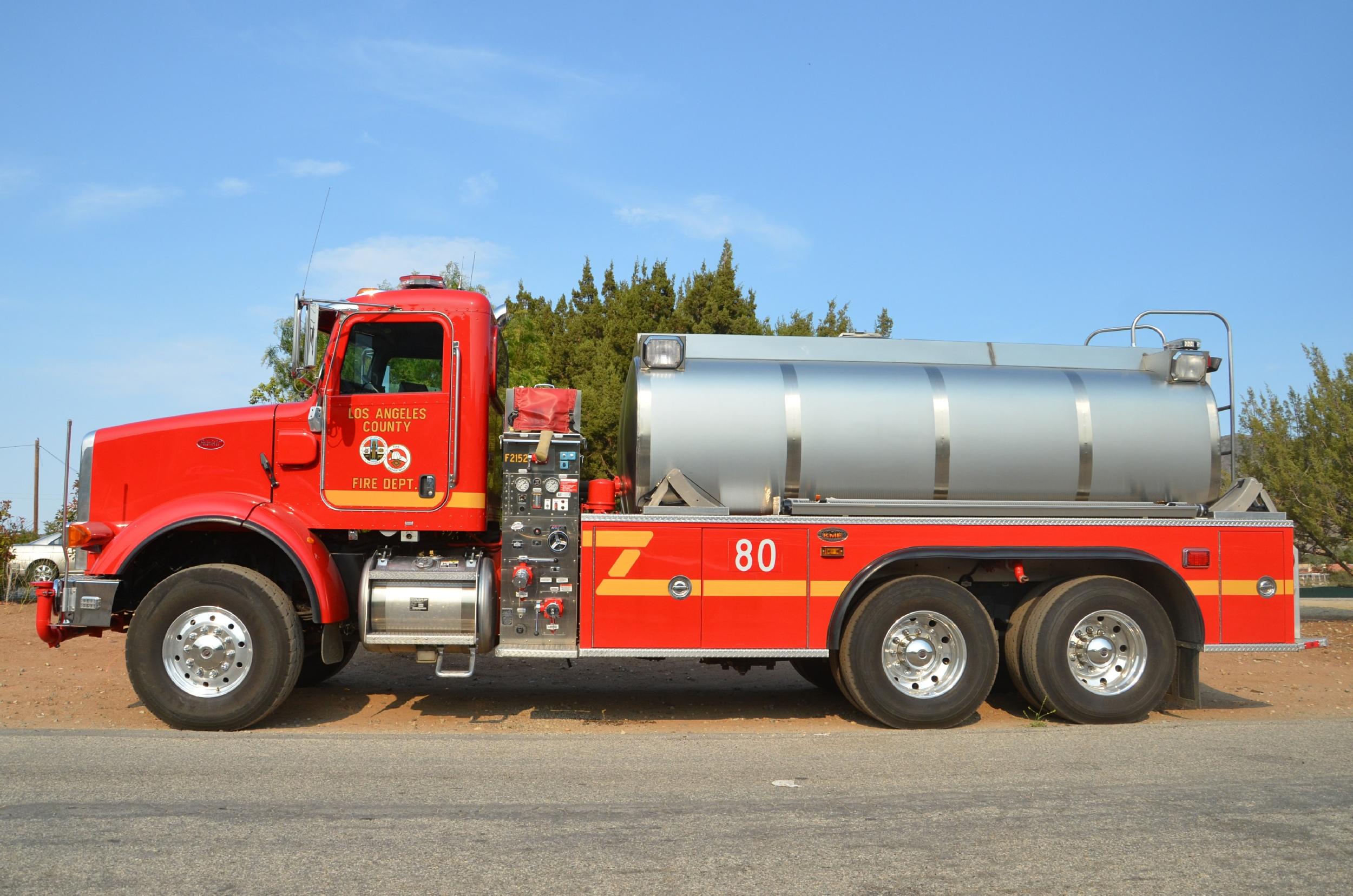 Ca Los Angeles County Fire Department Foam Water Tender
