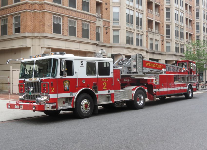 Seagrave Fire Apparatus >> DC, Dictrict of Columbia Fire Department Ladder Company