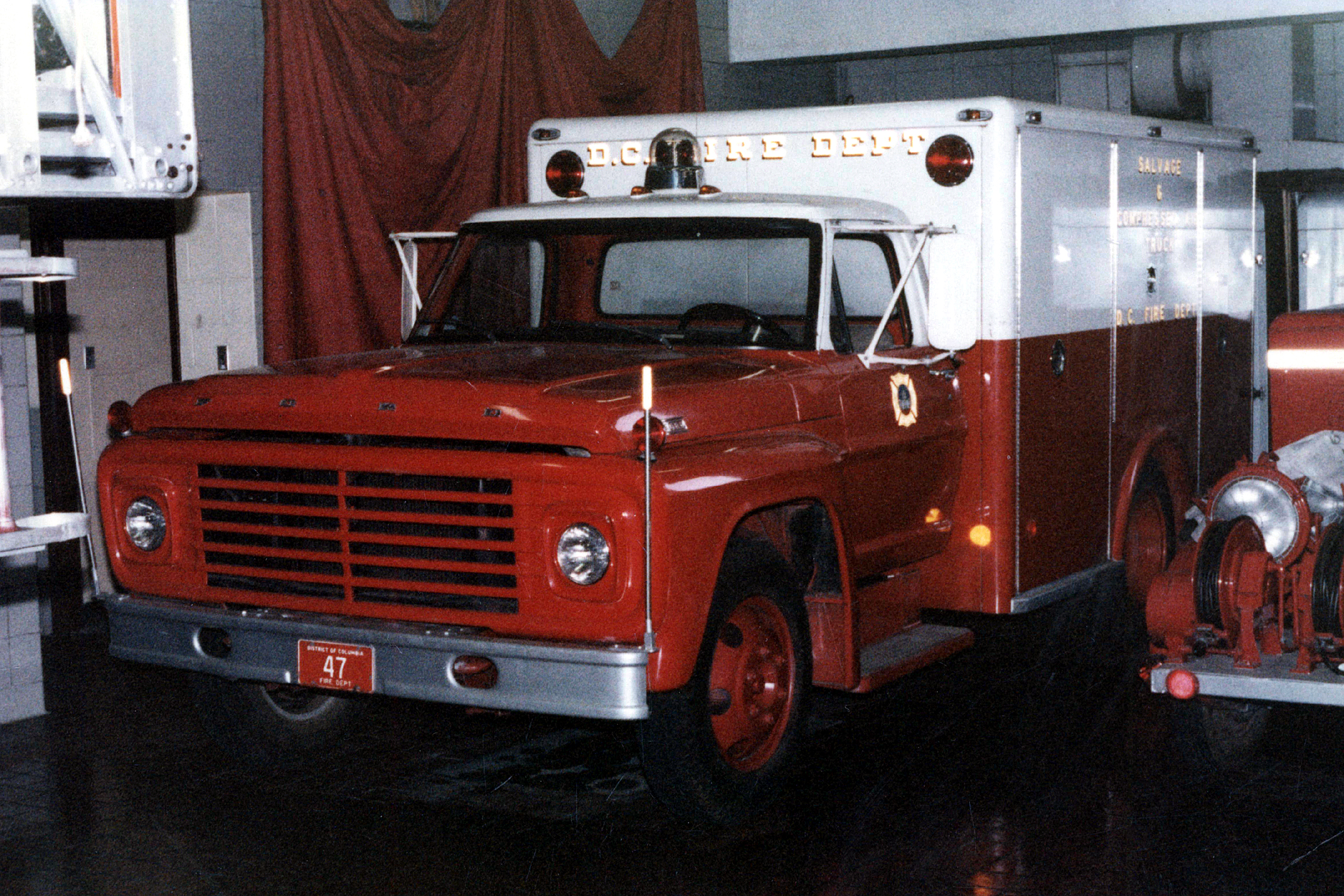 Dc Dictrict Of Columbia Fire Department Old Special