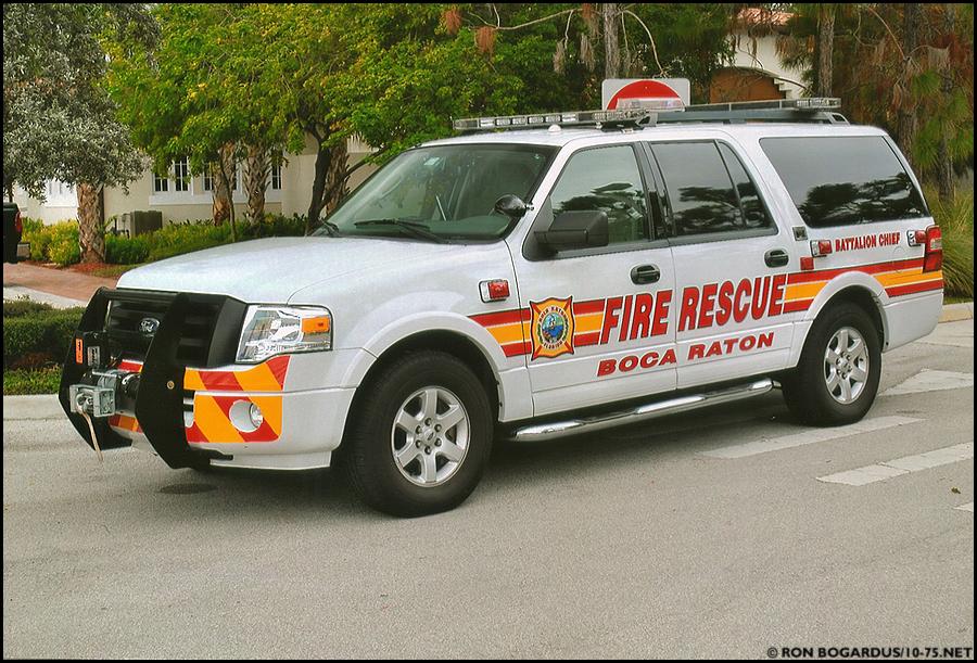 FL, Boca Raton Fire Department Command Car