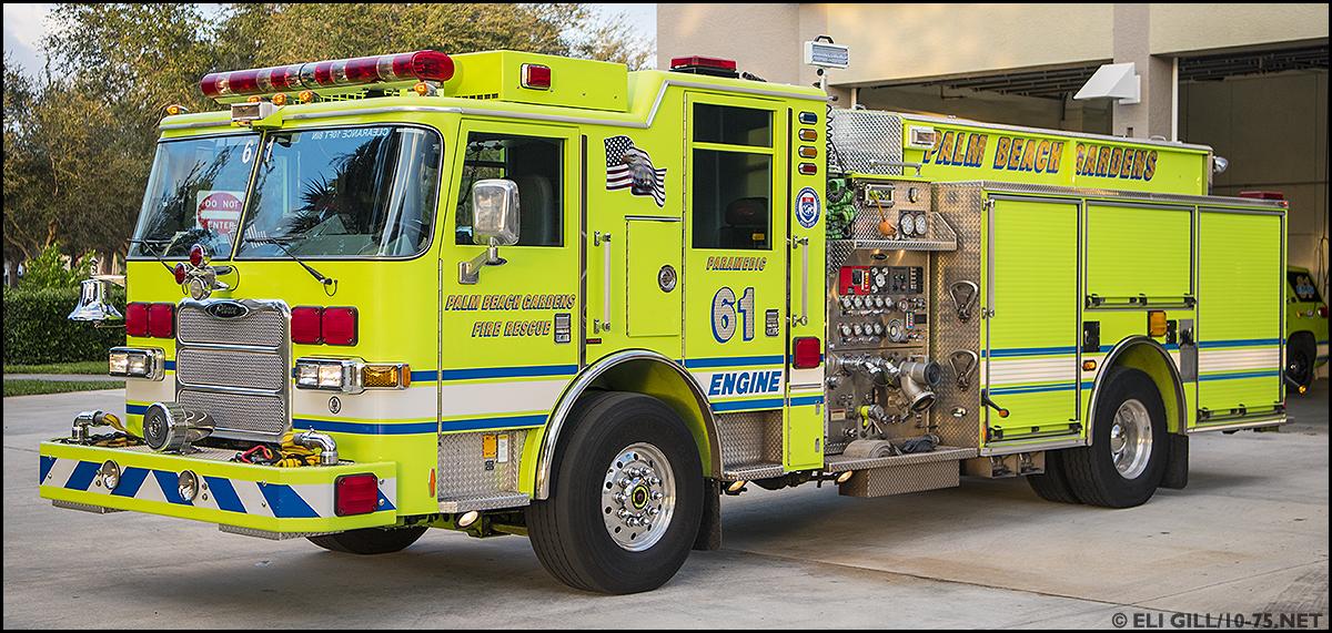 FL, Palm Beach Gardens Fire Department Old Company