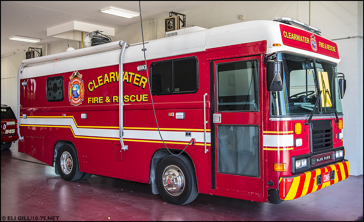 FL, Clearwater Fire Department Apparatus