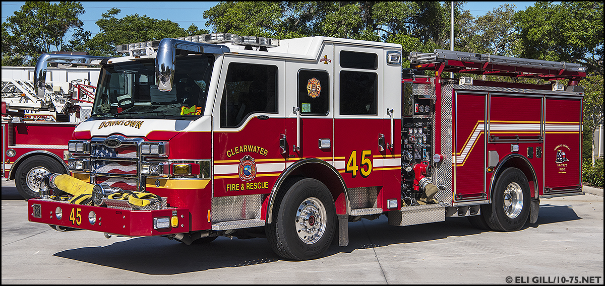 Nv >> FL, Clearwater Fire Department Apparatus