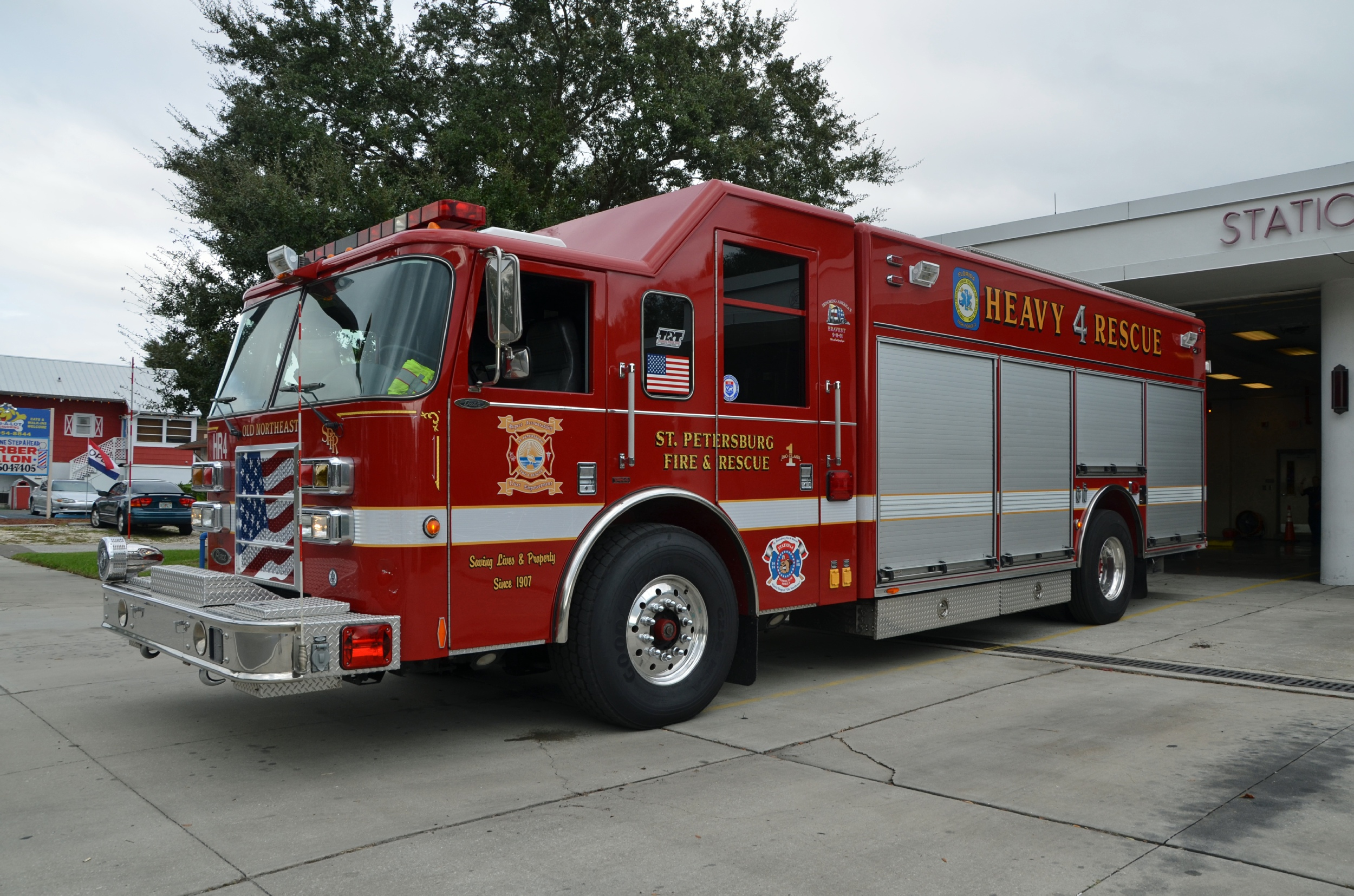 Special Ops Truck >> FL, St Petersburg Fire Department Special Operations