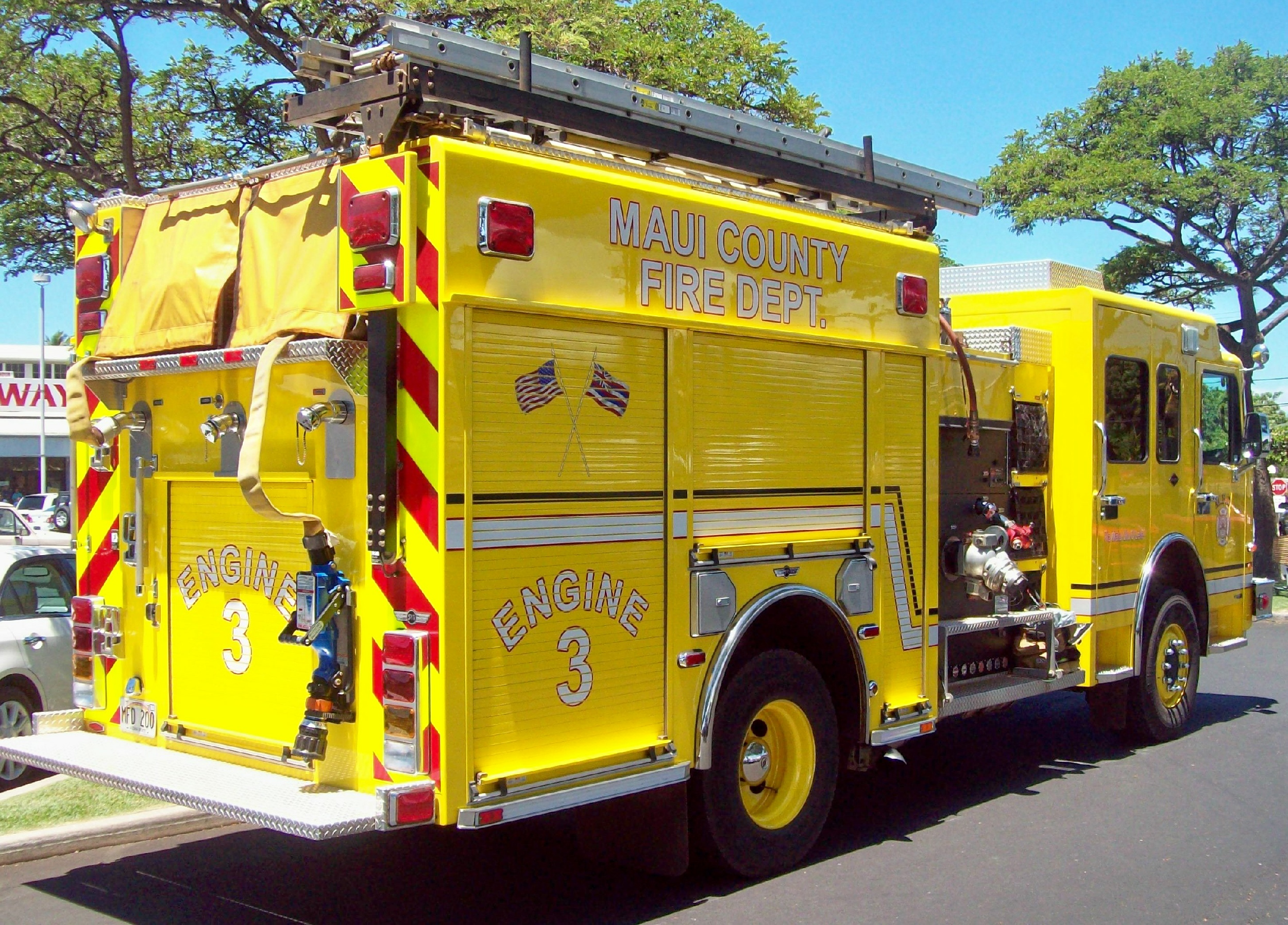 HI, Maui County Fire Department
