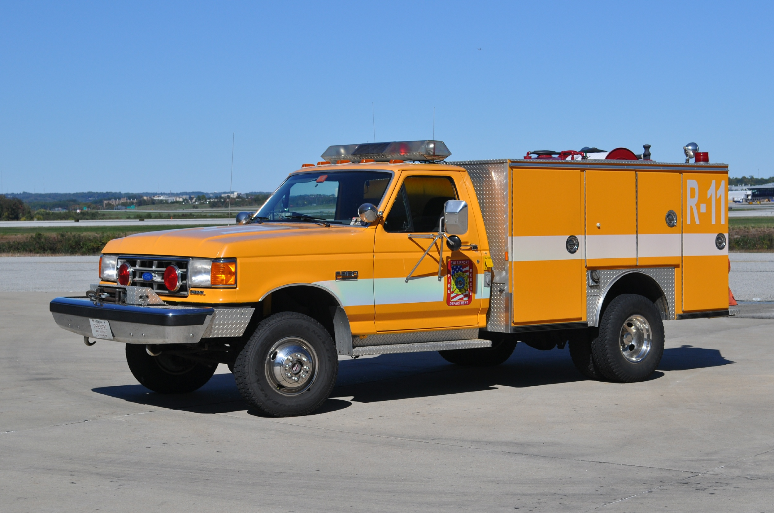 2016 Ford F350 >> MD, BWI Fire Rescue Engine / Ladder