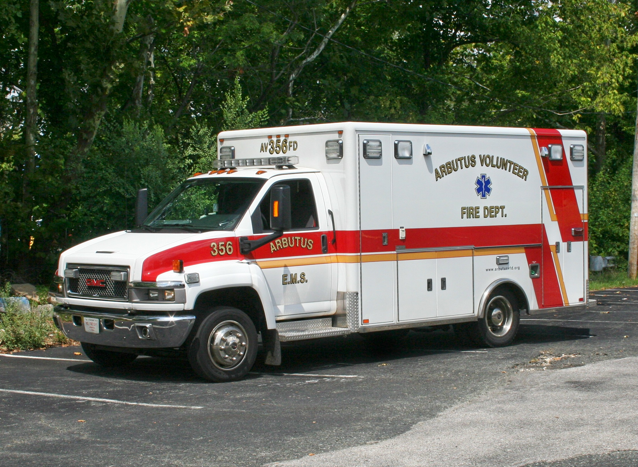 Md Arbutus Volunteer Fire Department 35