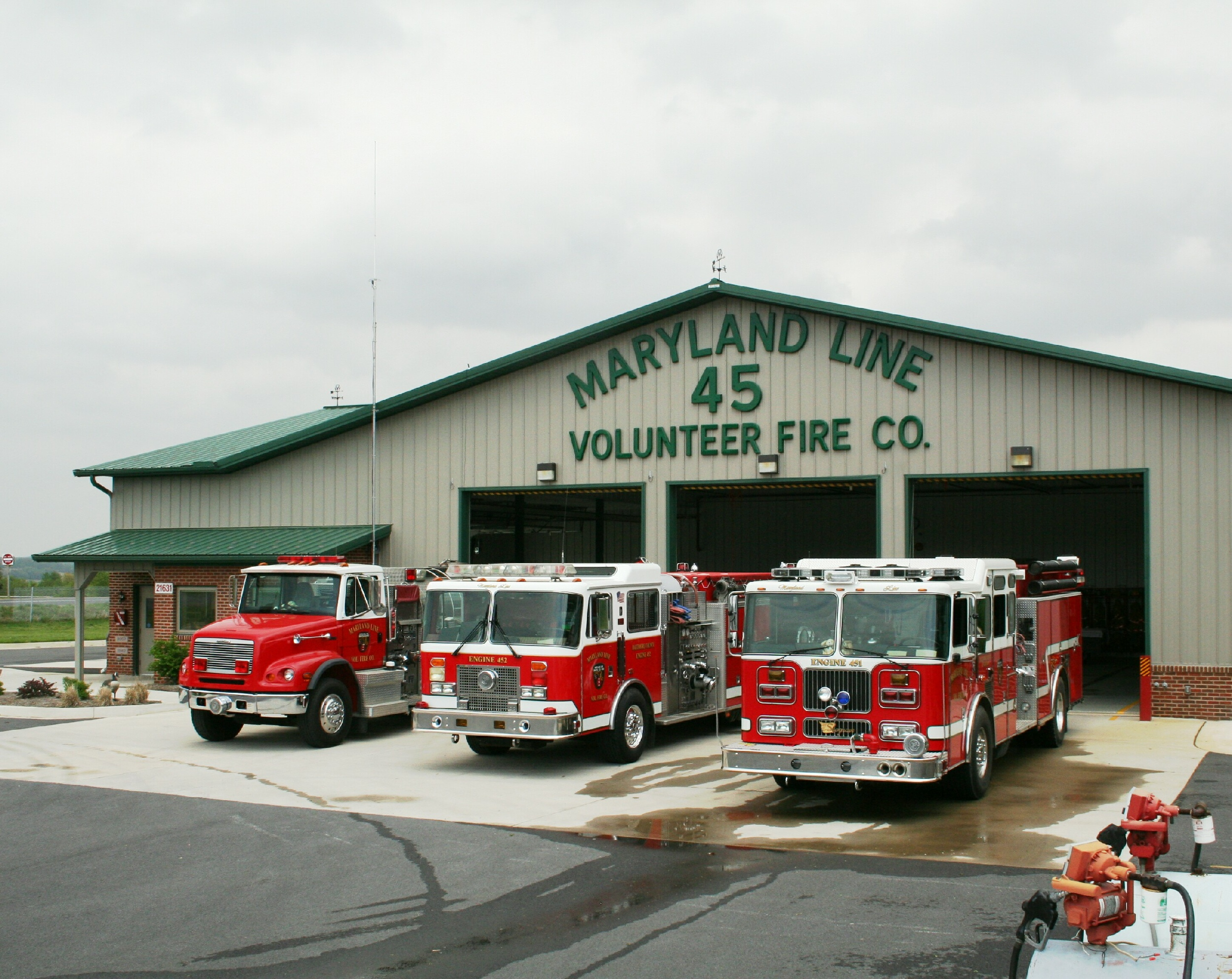 2003 Dodge Ram 1500 >> MD, Maryland Line Volunteer Fire Company 45