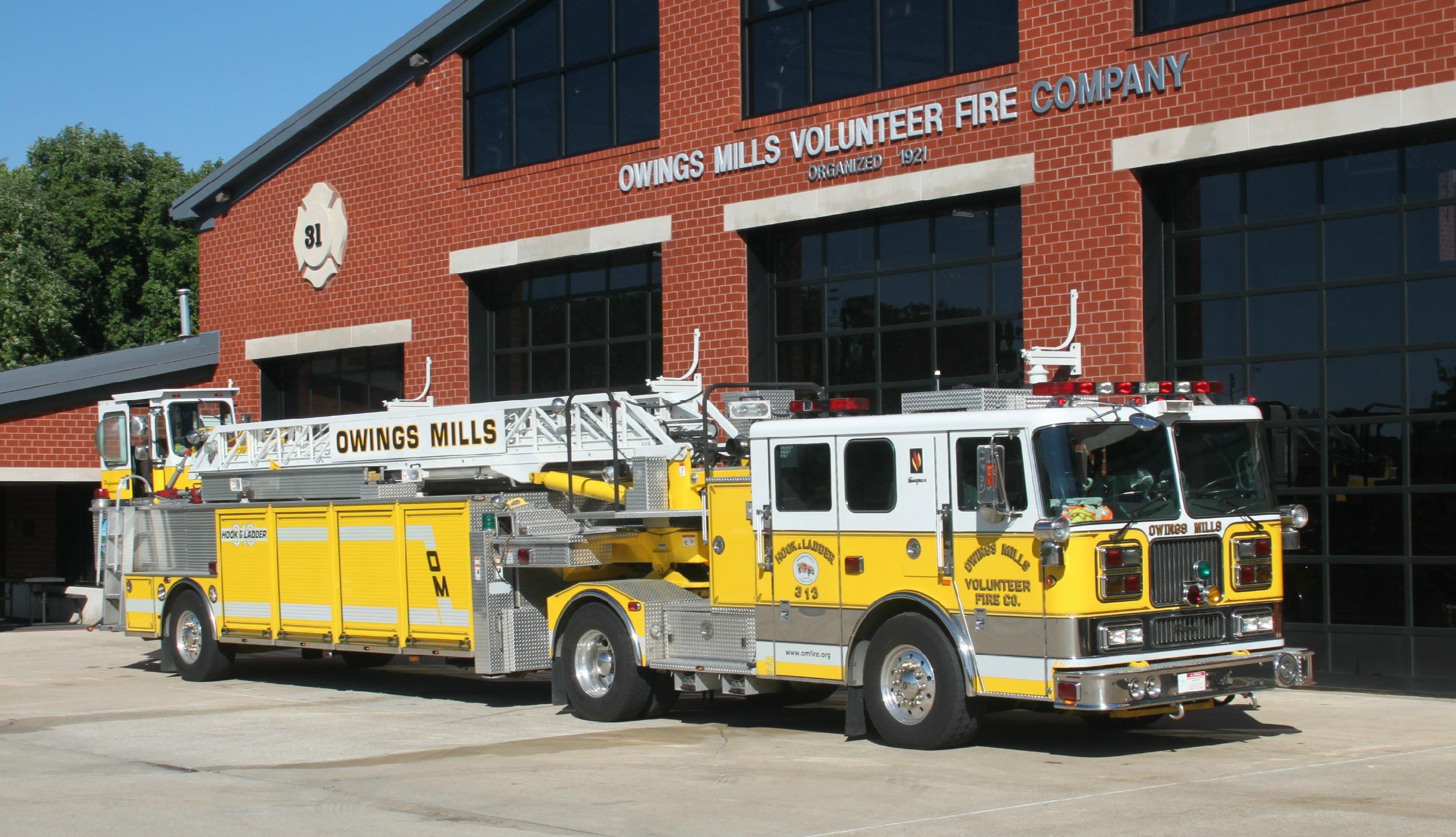 MD Owings Mills Volunteer Fire Company 31