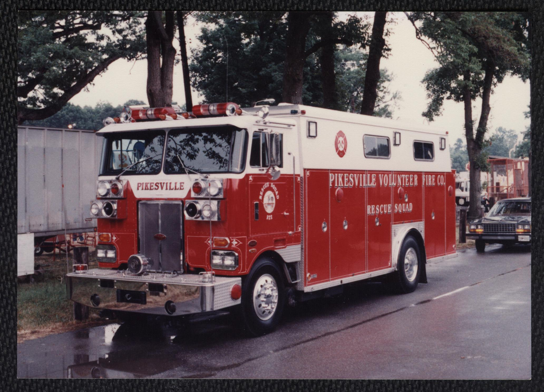 md  pikesville volunteer fire company 32