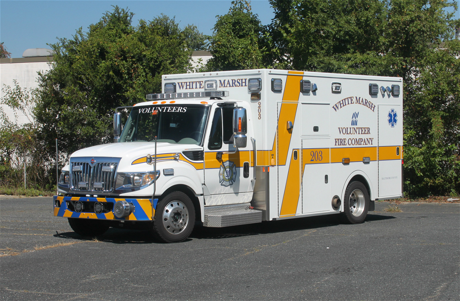 MD, White Marsh Volunteer Fire Company 20