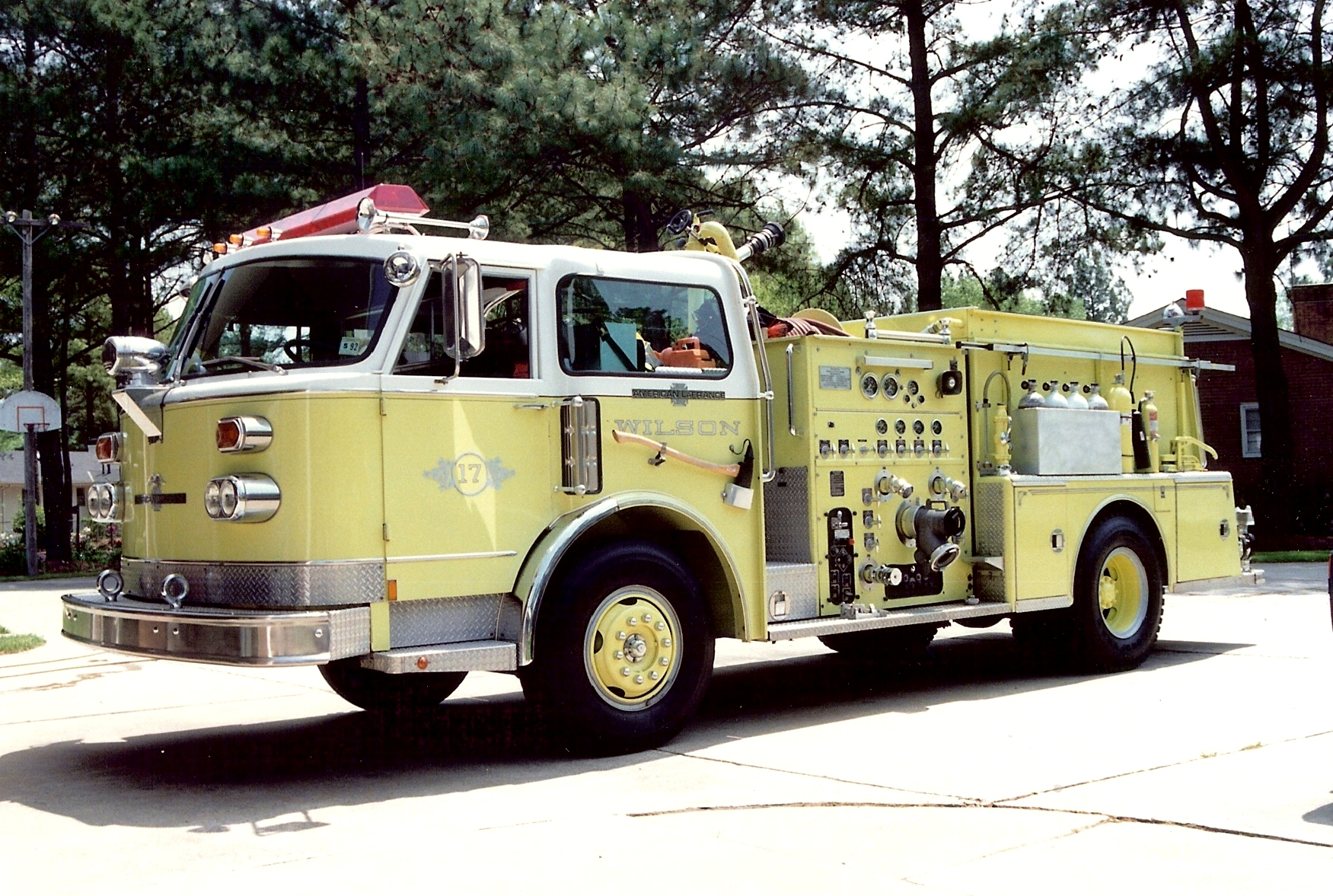 NC, Wilson County Fire Rescue Retired