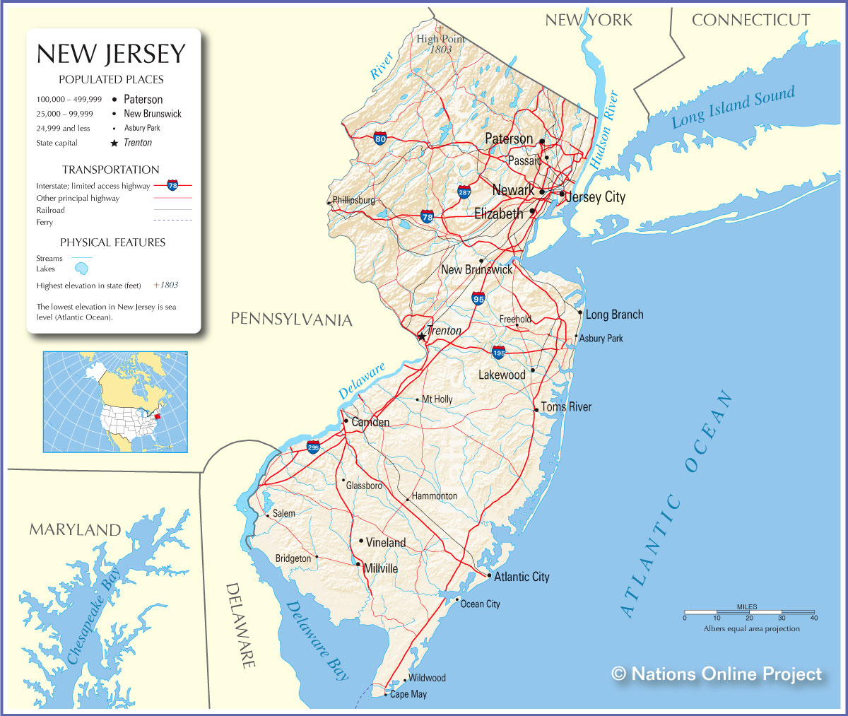 File Bowen Map Of New Jersey Pennsylvania New York And New - New york jersey map
