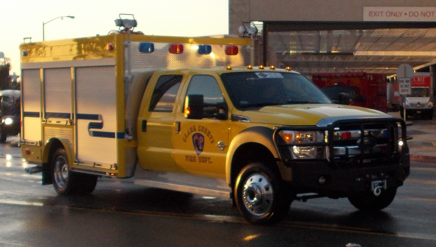 Freightliner Las Vegas Nv >> NV, Clark County Fire Department Special Operations