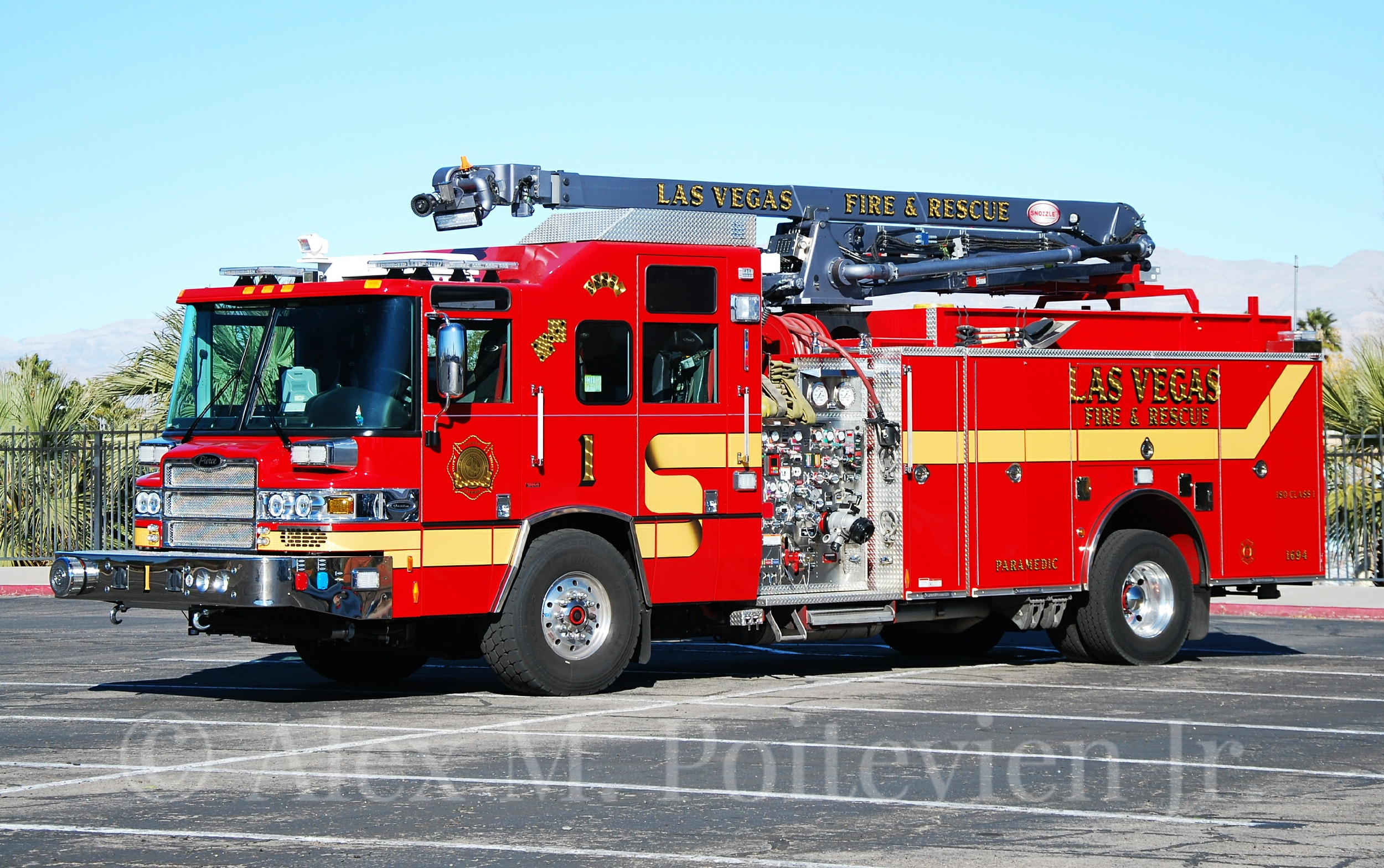 Nv Las Vegas Fire Department Engine Company