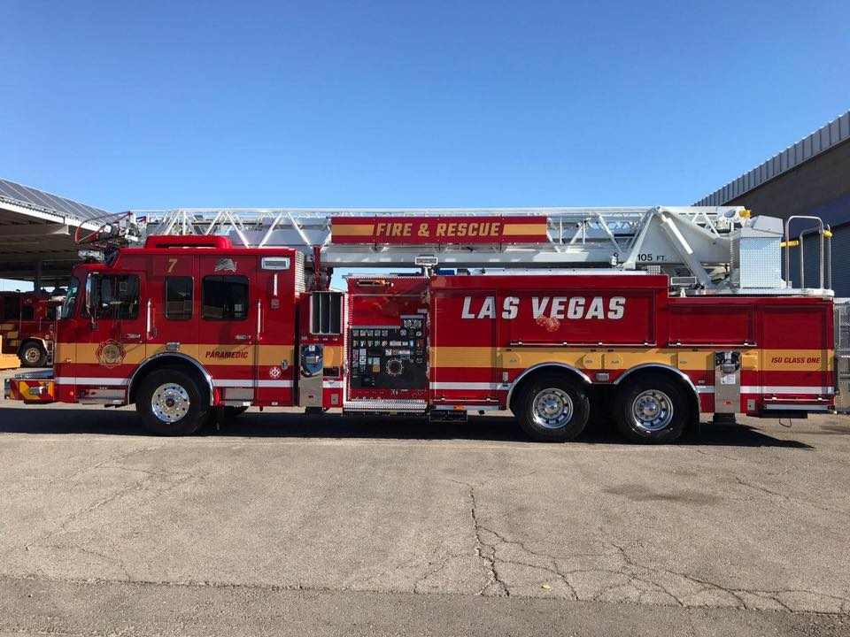 Nv Las Vegas Fire Department Ladder Company
