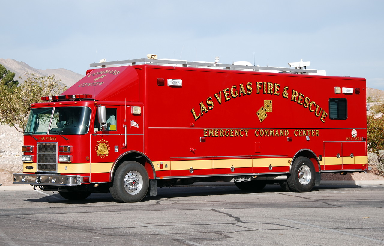Nv Las Vegas Fire Department Command Car
