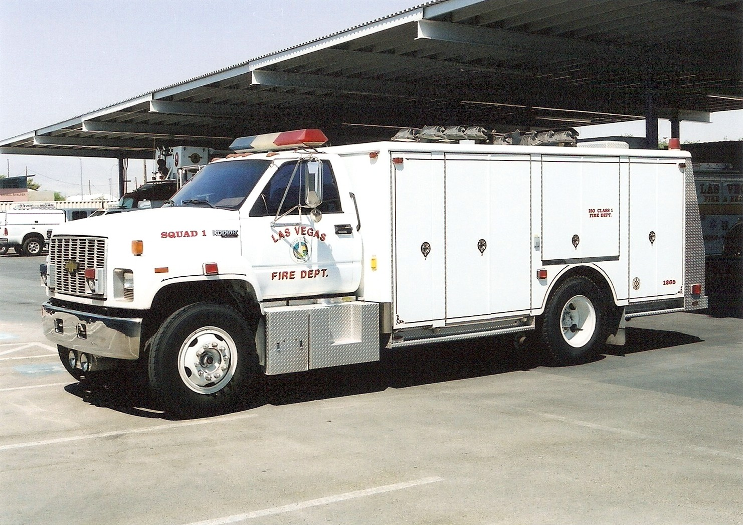 Nv Las Vegas Fire Department Old Special Operations