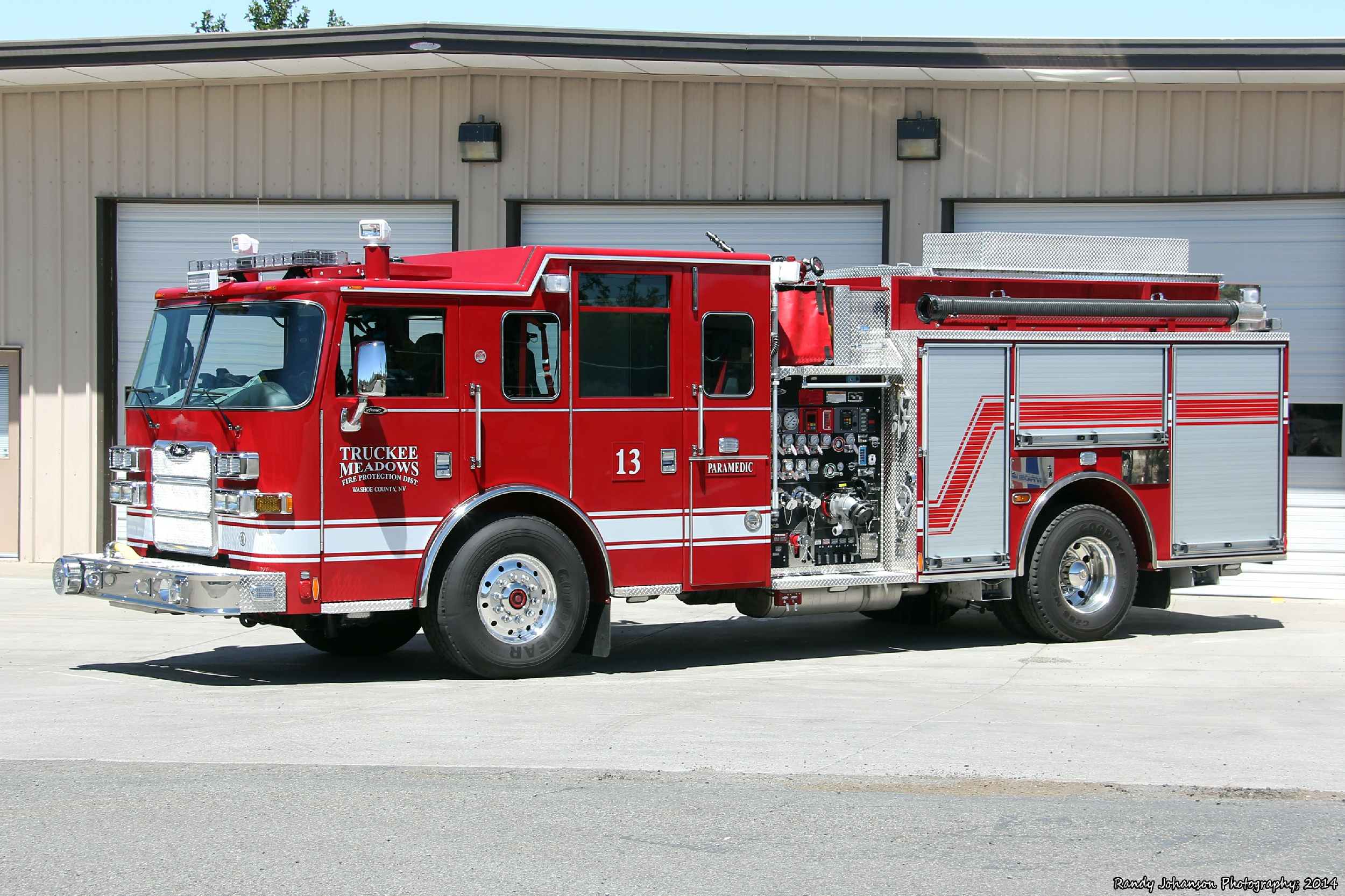 Nv Truckee Meadows Fire Department Engine Tanker