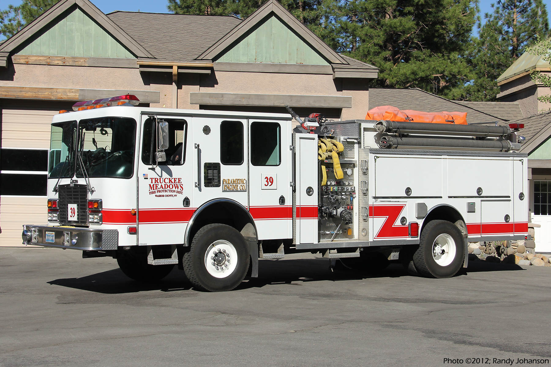 The District Of Columbia >> NV, Truckee Meadows Fire Department Engine / Tanker
