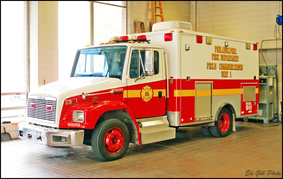philadelphia special fire operations pa field department pennsylvania communications freightliner