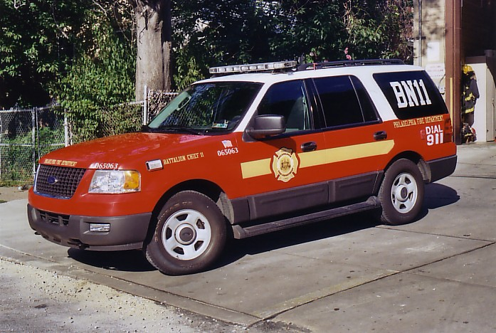 Pa Philadelphia Retired Battalion on 1997 Tahoe 4x4