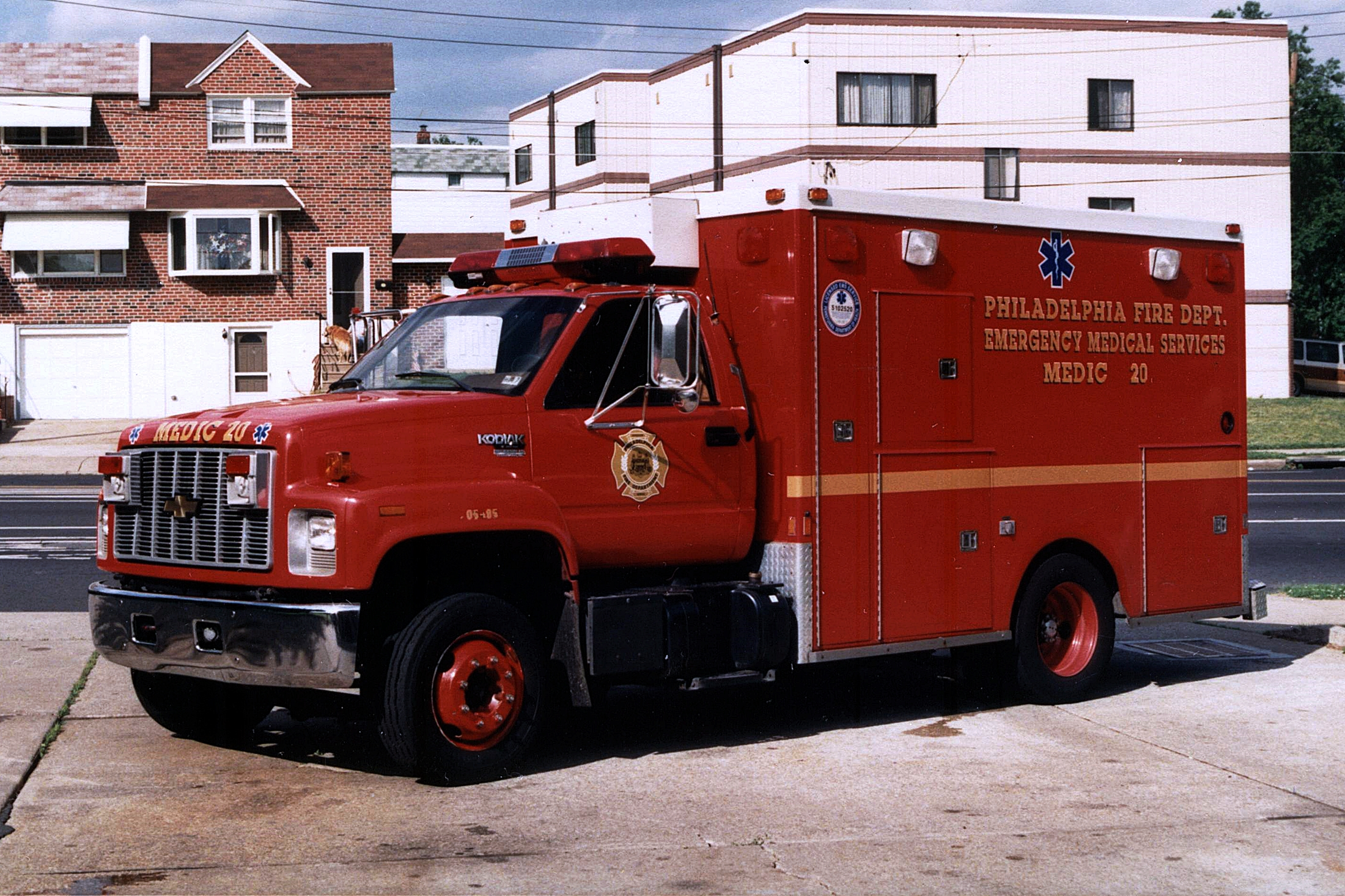 Pa Philadelphia Fire Department Old Ems