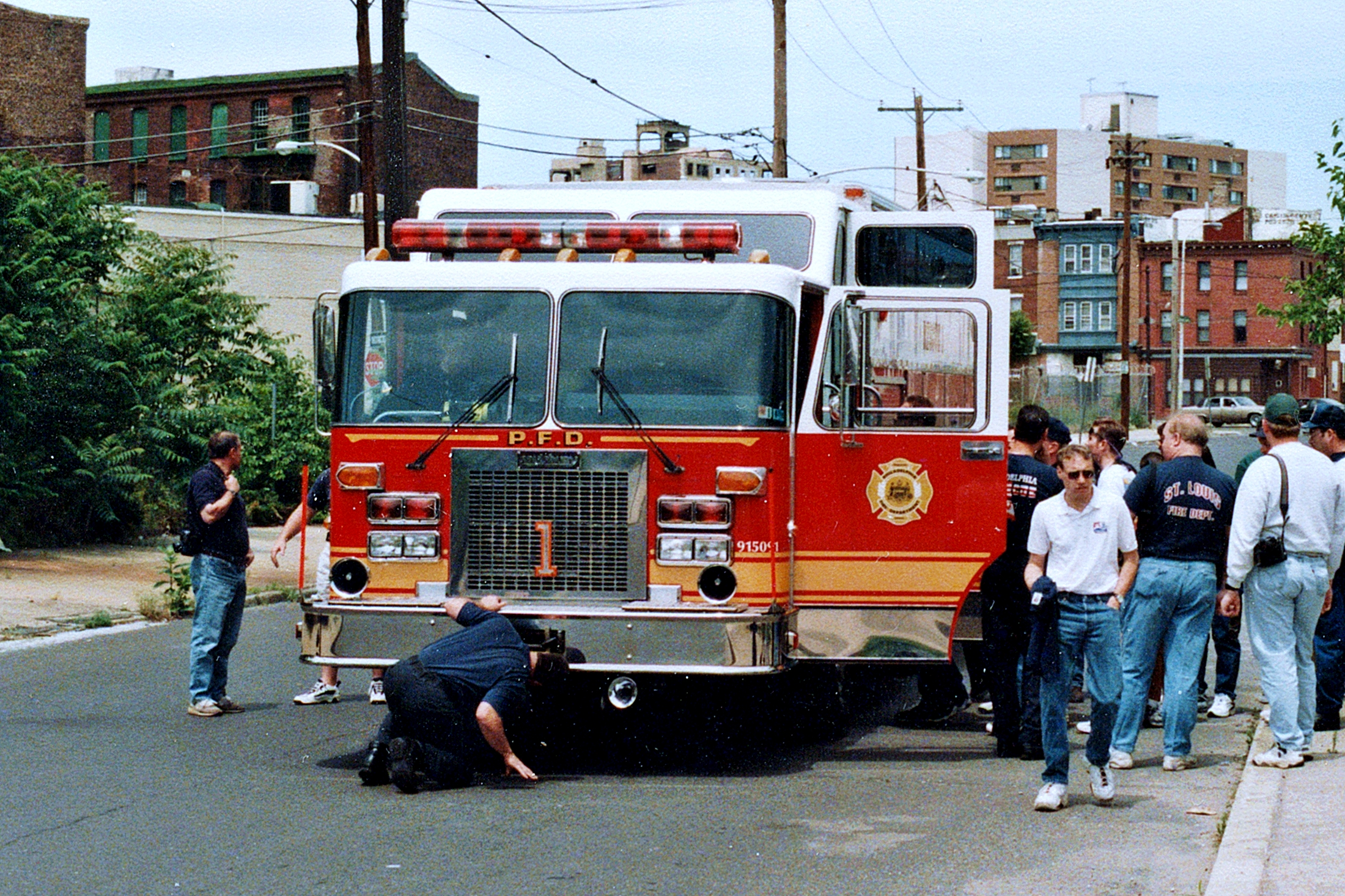 Pa Philadelphia Fire Department Old Special Operations