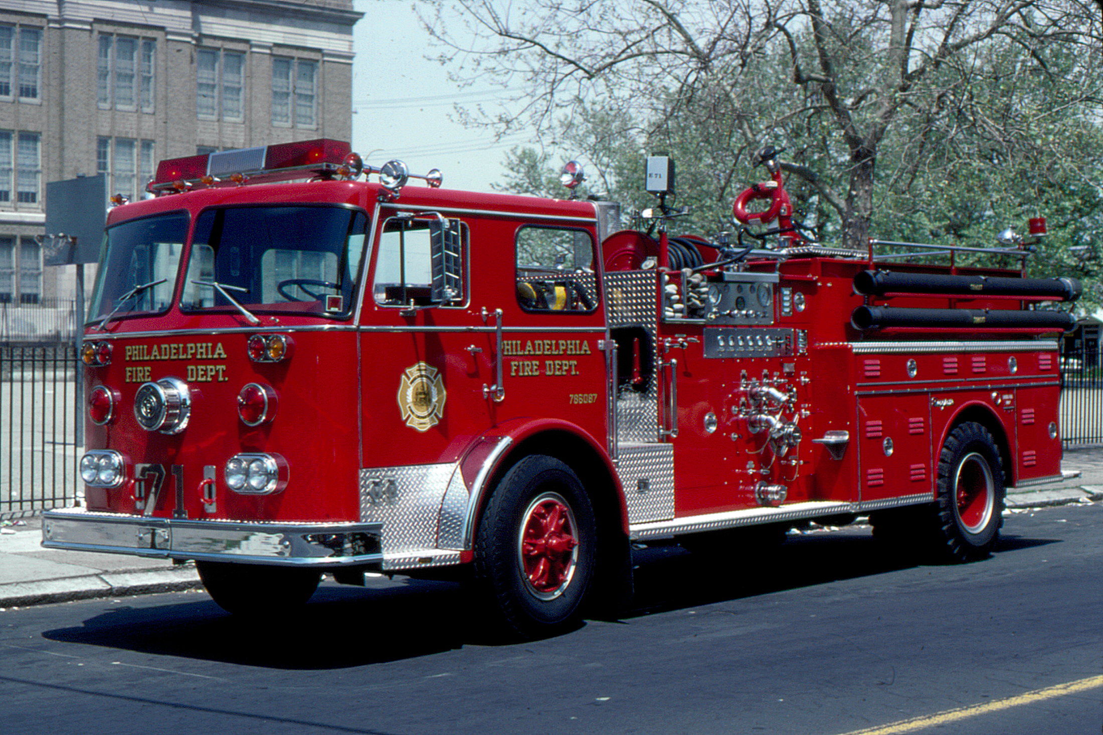 Seagrave Fire Apparatus >> PA, Philadelphia Fire Department Old Engine Company - 3