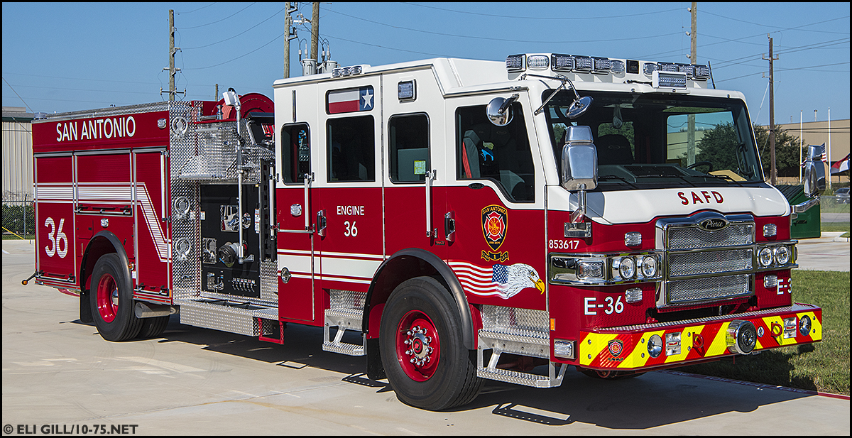 Tx San Antonio Fire Department Engine Company 2