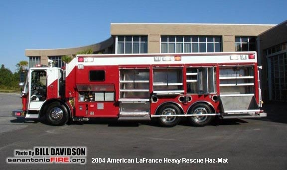 Tx San Antonio Fire Department Old Special Unit
