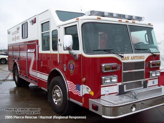Freightliner San Antonio >> TX, San Antonio Fire Department Old Special Unit