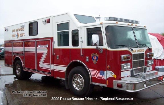 Freightliner San Antonio >> TX, San Antonio Fire Department Old Special Unit