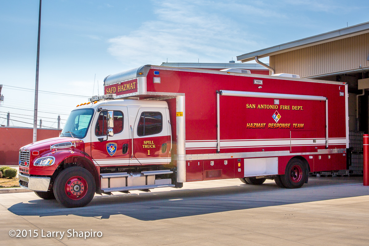 Freightliner San Antonio >> TX, San Antonio Fire Department Special Operations