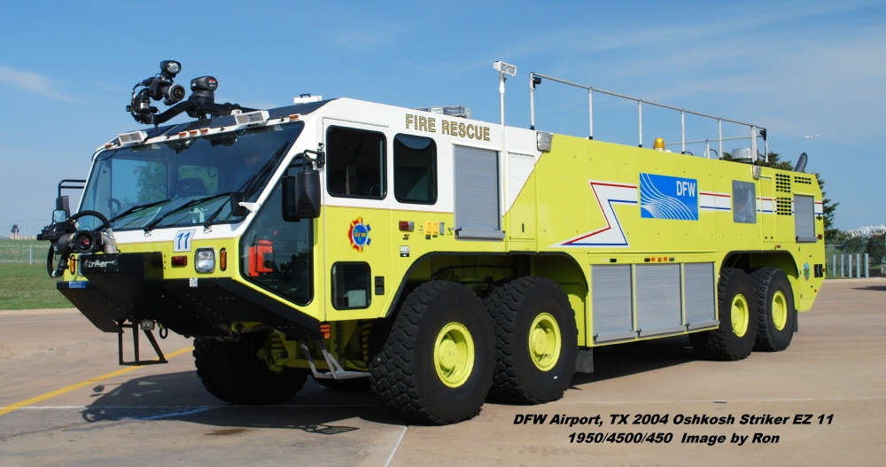 Tx Dfw Airport Fire Services Arff