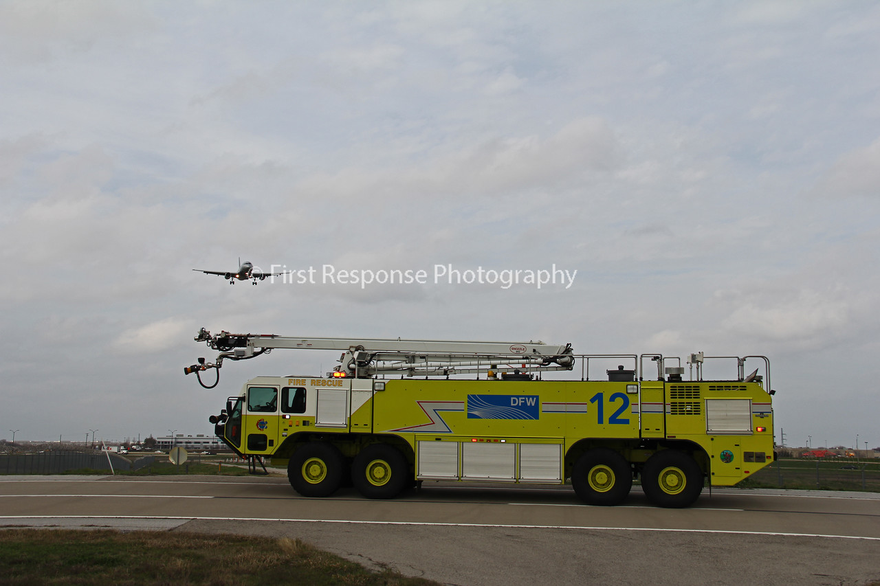 TX, DFW Airport Fire Services Retired