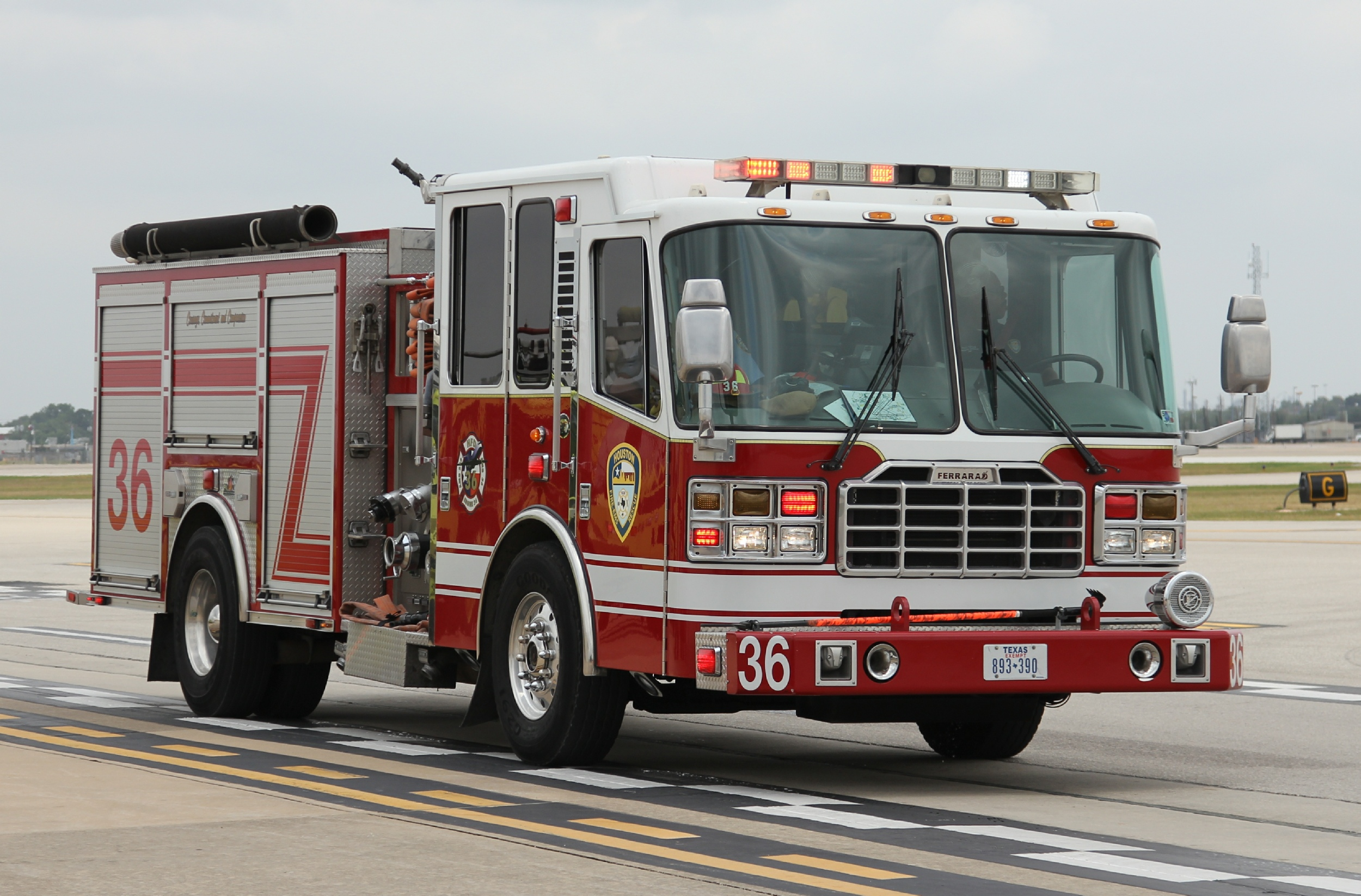 Picture Of Hawaii >> TX, Houston Fire Department George Bush intercontinental ...