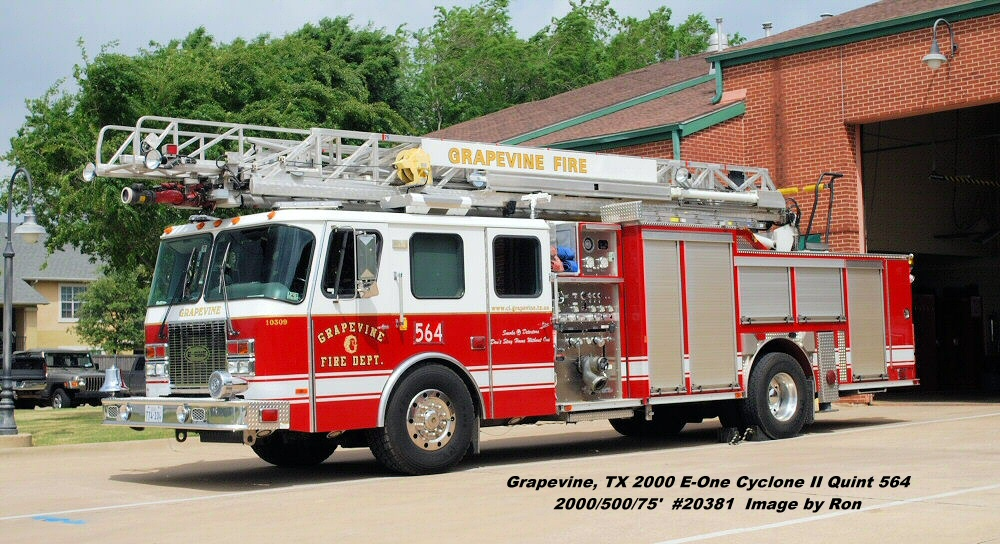Tx Grapevine Fire Department