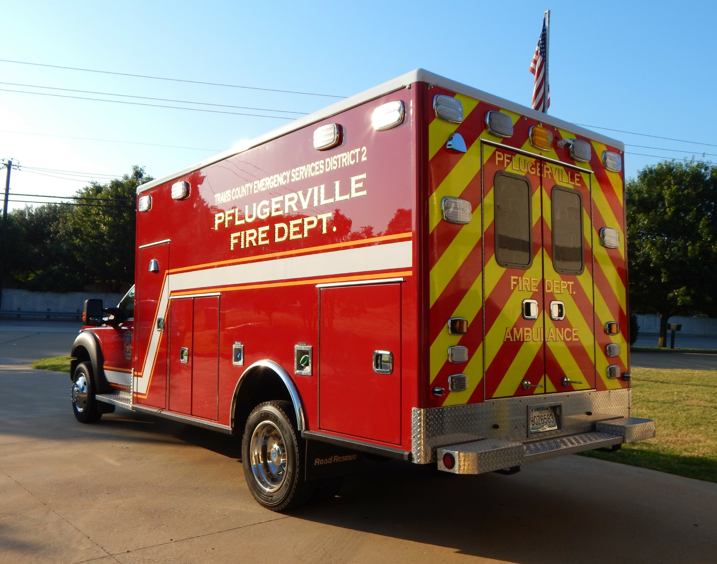Washington Ford Pa >> TX, Pflugerville Fire Department EMS