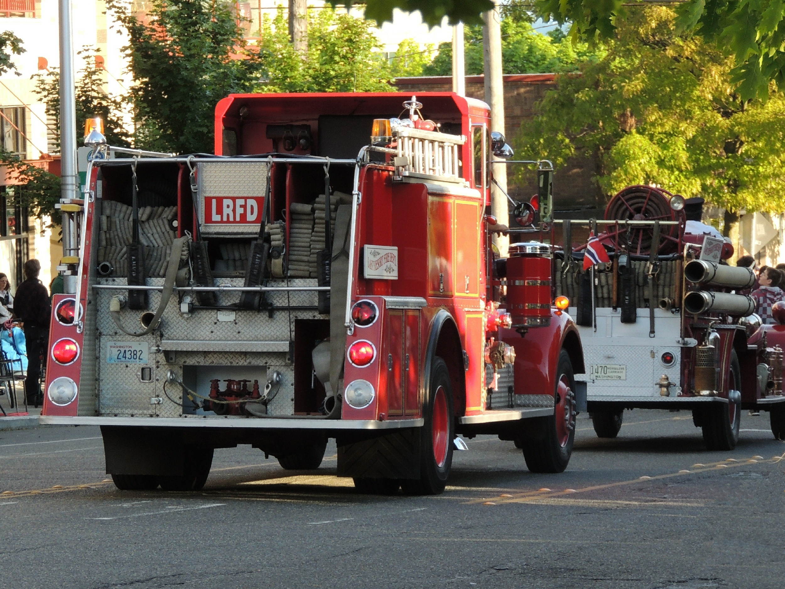 Seagrave Fire Apparatus >> Wa , Seattle Fire Department : Old Company